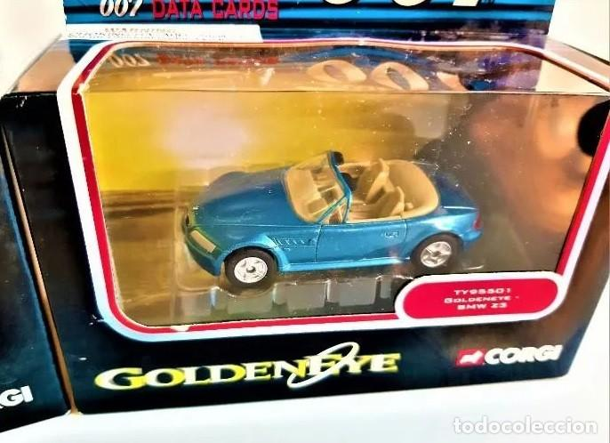 COCHE BMW Z-3 AZUL , CORGI JAMES BOND 007, NUEVO EN CAJA ORIGINAL . ESCALA 1/64 (Juguetes - Coches a Escala 1:43 Corgi Toys)