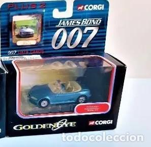 Coches a escala: COCHE BMW Z-3 AZUL , CORGI JAMES BOND 007, NUEVO EN CAJA ORIGINAL . ESCALA 1/64 - Foto 2 - 212766008