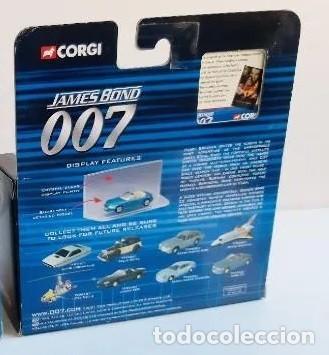 Coches a escala: COCHE BMW Z-3 AZUL , CORGI JAMES BOND 007, NUEVO EN CAJA ORIGINAL . ESCALA 1/64 - Foto 3 - 212766008