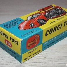 Coches a escala: CAJA VACÍA *EMPTY BOX* FERRARI 250 LE MANS REF. 314, ESC. 1/43, CORGI TOYS GB. ORIGINAL AÑOS 60.. Lote 221517347
