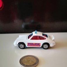 Coches a escala: RARO PORSCHE 911 CARRERA CORGI JUNIORS POLICIA INGLESA POLICE COCHE VER FOTOS COMO NUEVO NO LESNEY. Lote 222097631