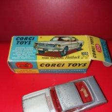 Coches a escala: FORD MUSTANG CORGI TOYS CAJA ORIGINAL. Lote 222706850
