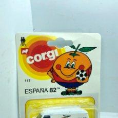 Coches a escala: CORGI JÚNIORS REF 117 CHEVROLET VAN-ESPAÑA 82 EN BLISTER NUEVO. Lote 223346836