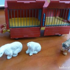 Coches a escala: COCHE CIRCO ORIGINAL ANTIGUO CORGI TOYS CIRCUS ANIMAL CAGE MADE IN BRITAIN MUY BUEN ESTADO. Lote 224476016