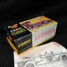 Coches a escala: CORGI CLASSICS 9021, 1910 DAIMLER. CAJA Y FOLLETO. Lote 232263550