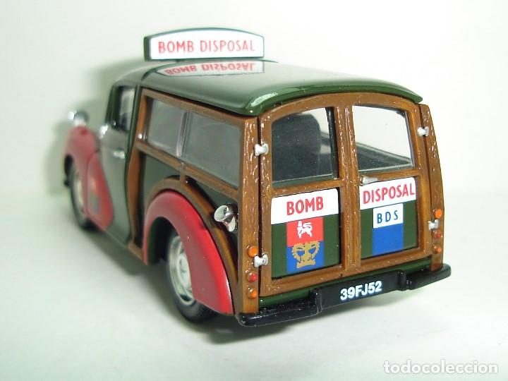 Coches a escala: FURGONETA MORRIS TRAVELLER BOMB DISPOSAL CORGI ESCALA 1:43 - Foto 5 - 236768070
