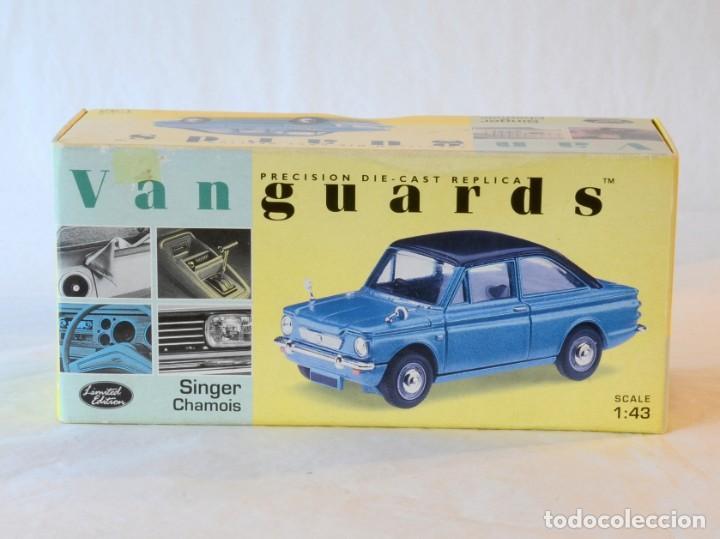 Coches a escala: Vanguards VA40001 Singer Chamois Azul 1:43 Lledo Corgi - Foto 9 - 236980170