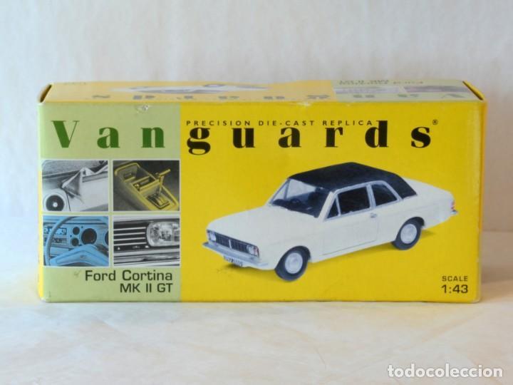 Coches a escala: Vanguards VA04100 Ford Cortina MKII GT1:43 Lledo Corgi - Foto 2 - 236982990