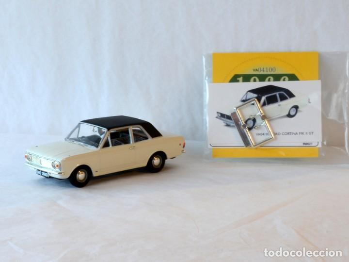 Coches a escala: Vanguards VA04100 Ford Cortina MKII GT1:43 Lledo Corgi - Foto 4 - 236982990