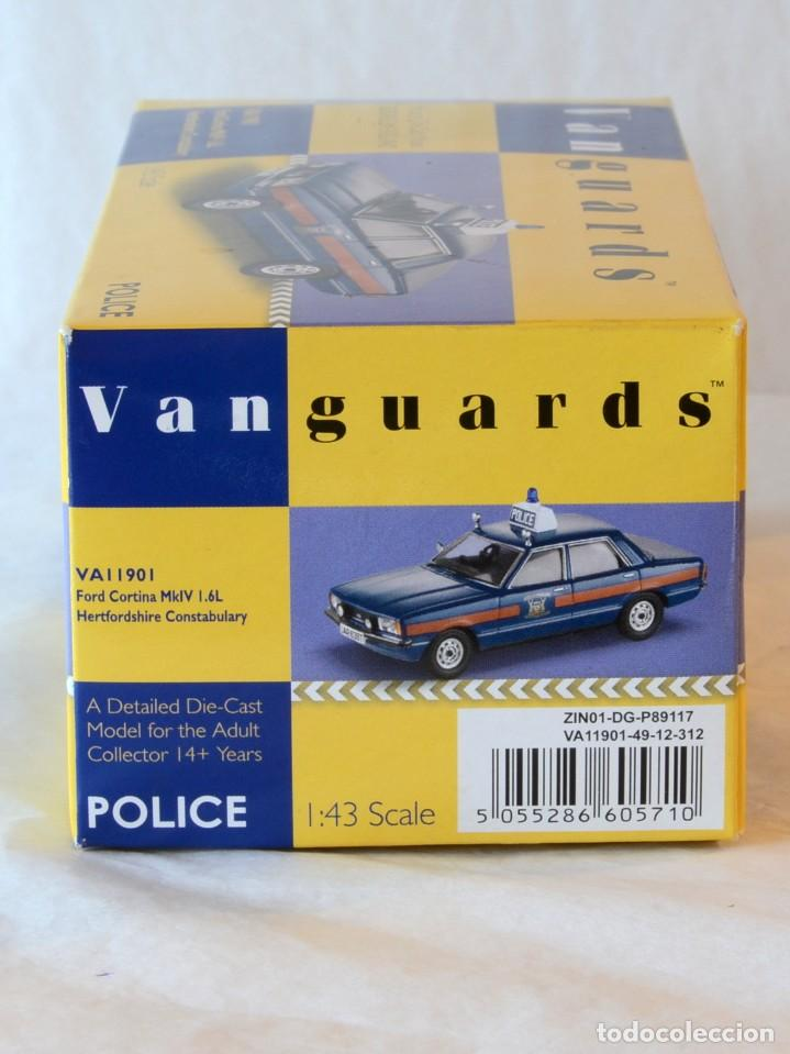 Coches a escala: Vanguards VA11901 Ford Cortina MKIV Police 1:43 Lledo Corgi - Foto 2 - 236985760