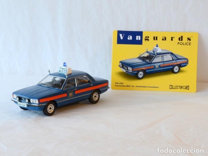 Coches a escala: Vanguards VA11901 Ford Cortina MKIV Police 1:43 Lledo Corgi - Foto 4 - 236985760