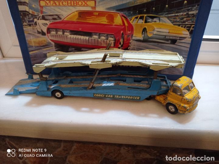 Coches a escala: CORGI MAJOR, BIG BEDFORD UNIT + CARRIMORE CAR TRANSPORTER. VER FOTOS - Foto 3 - 237017575
