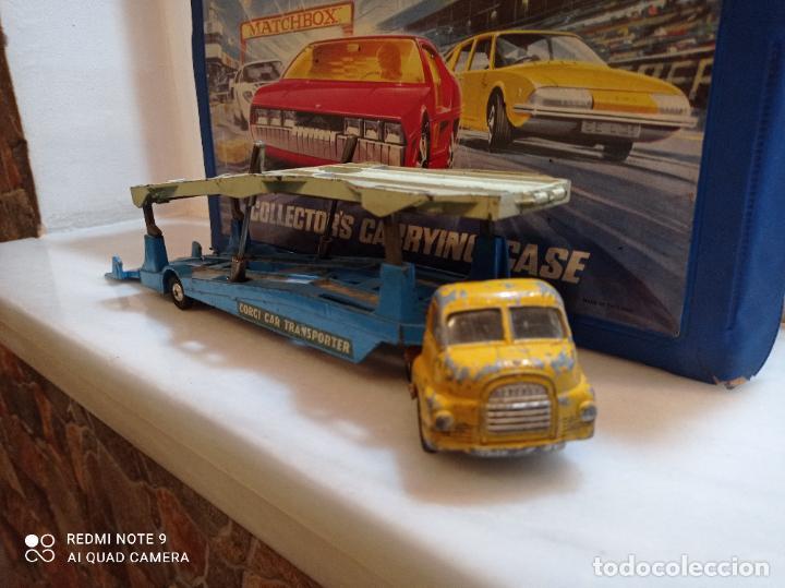 Coches a escala: CORGI MAJOR, BIG BEDFORD UNIT + CARRIMORE CAR TRANSPORTER. VER FOTOS - Foto 5 - 237017575