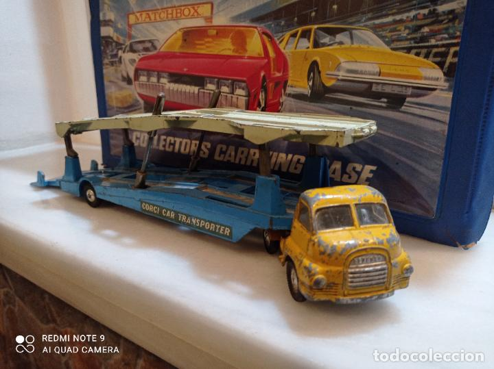 Coches a escala: CORGI MAJOR, BIG BEDFORD UNIT + CARRIMORE CAR TRANSPORTER. VER FOTOS - Foto 6 - 237017575