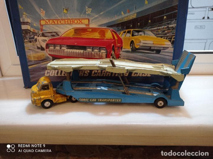 Coches a escala: CORGI MAJOR, BIG BEDFORD UNIT + CARRIMORE CAR TRANSPORTER. VER FOTOS - Foto 9 - 237017575