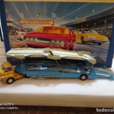 Coches a escala: CORGI MAJOR, BIG BEDFORD UNIT + CARRIMORE CAR TRANSPORTER. VER FOTOS. Lote 237017575