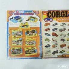 Auto in scala: CORGI : STANDARD JUNIORS GIFT SETS TWIN PACK - CATÁLOGO A TODO COLOR, EN INGLÉS -(L). Lote 240632485