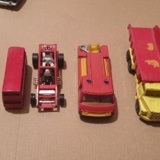 Coches a escala: LOTE 5 CORGI MINI BUS FIRE ENGINE SCANIA LTI45. Lote 243469165