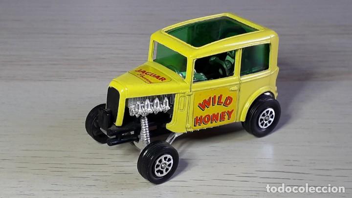 Coches a escala: Ison Bros Jaguar Wild Honey Dragster # 164, metal esc 1/43, Corgi Toys Gt. Britain, original años 70 - Foto 2 - 244619860