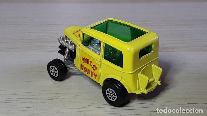Coches a escala: Ison Bros Jaguar Wild Honey Dragster # 164, metal esc 1/43, Corgi Toys Gt. Britain, original años 70 - Foto 3 - 244619860