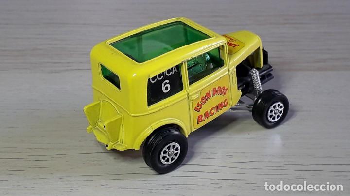 Coches a escala: Ison Bros Jaguar Wild Honey Dragster # 164, metal esc 1/43, Corgi Toys Gt. Britain, original años 70 - Foto 4 - 244619860