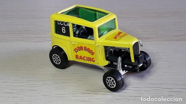 ISON BROS JAGUAR WILD HONEY DRAGSTER # 164, METAL ESC 1/43, CORGI TOYS GT. BRITAIN, ORIGINAL AÑOS 70 (Juguetes - Coches a Escala 1:43 Corgi Toys)