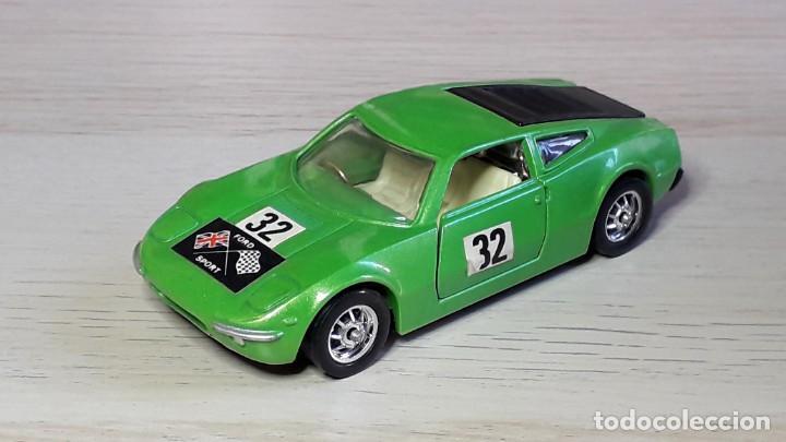 Coches a escala: Ford GT 70 # 316, metal esc 1/43, Corgi Toys Gt. Britain, original años 70. - Foto 2 - 244620195
