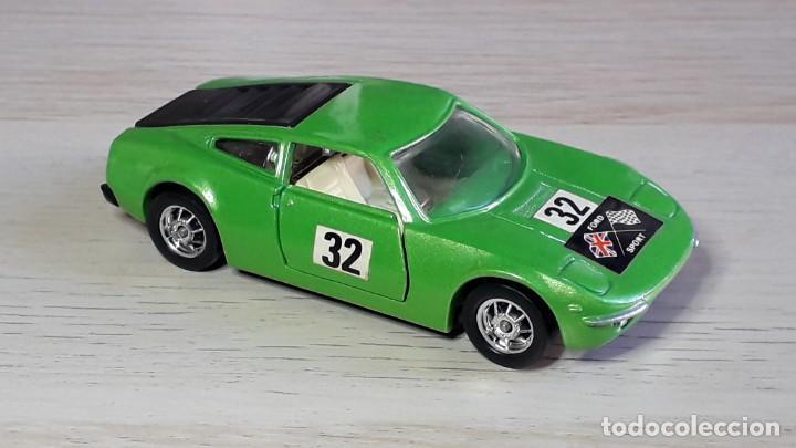 Coches a escala: Ford GT 70 # 316, metal esc 1/43, Corgi Toys Gt. Britain, original años 70. - Foto 5 - 244620195