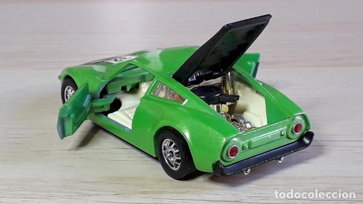 Coches a escala: Ford GT 70 # 316, metal esc 1/43, Corgi Toys Gt. Britain, original años 70. - Foto 6 - 244620195
