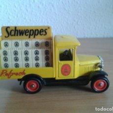 Coches a escala: SCHWEPPES CHEVROLET DELIVERY VAN 1920 REPARTO. Lote 245087050