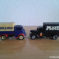 Coches a escala: VILLEROY BOCH FORDSON 1940 MOTTA FORD 1939 CAMION. Lote 245097450