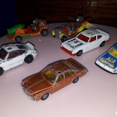 Coches a escala: LOTE 6 COCHES CORGI TOYS TOM JERRY FORD CAPRI BUICK REGAL ROVER 3500 LEER DESCRIPCIÓN. Lote 246142845