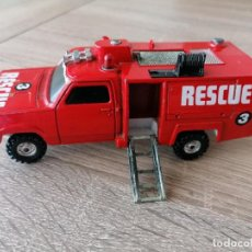 Coches a escala: COCHE DE RESCUE DE * CORGI * HBC-AUGUST FIRESTREAK MADE IN GT BRITAIN AÑOS 70. Lote 262741185