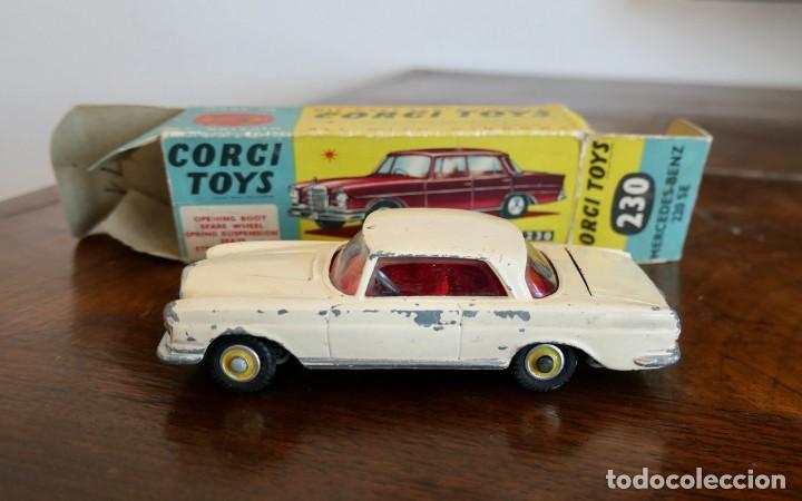1960S CORGI TOYS MERCEDES-BENZ 220 SE COUPÉ - Nº 230 (Juguetes - Coches a Escala 1:43 Corgi Toys)