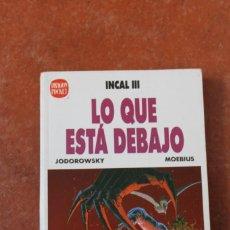 Coches a escala: DRAGON POCKET Nº 7 : INCAL III: LO QUE ESTA DEBAJO; JODOROWSKI - MOEBIUS. Lote 279488113