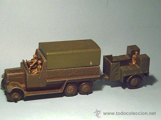 DINKY Nº 151B+151C CAMION MAS COCINA (1938) (Juguetes - Coches a Escala 1:43 Dinky Toys)