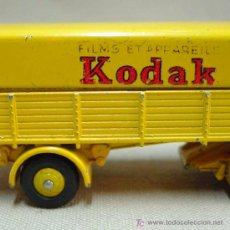 Coches a escala: DINKY TOYS TRACTEUR PANHARD KODAK MADE IN FRANCE MECCANO MEGA RARO. Lote 11117154