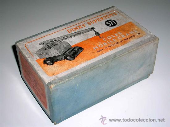 Coches a escala: Grua Coles ref. 571 fabricada en metal por la casa Dinky Toys, original años 50. - Foto 5 - 24106343