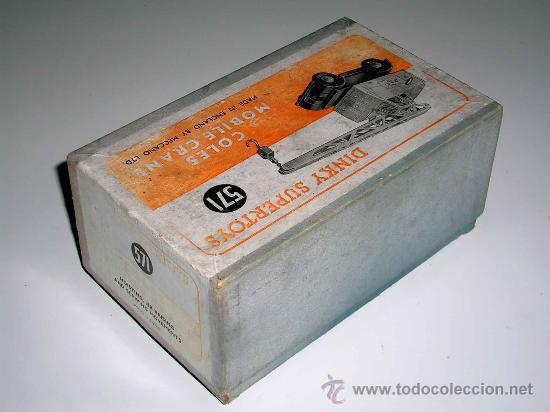 Coches a escala: Grua Coles ref. 571 fabricada en metal por la casa Dinky Toys, original años 50. - Foto 6 - 24106343