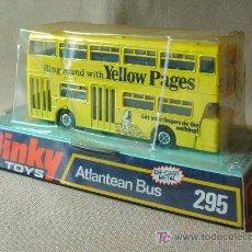 Carros em escala: AUTOBUS, ATLANTEAN BUS, Nº 295, DINKY TOYS, YELLOW PAGES, MADE IN ENGLAND, EN SU CAJA. Lote 59964574