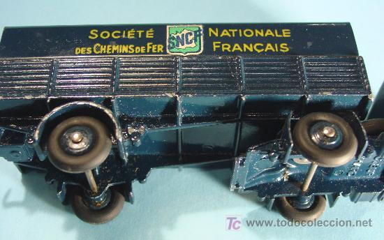 Coches a escala: TRACTEUR PANHARD. MOD. 32AB. SNCF. MADE IN FRANCE - Foto 3 - 27253606