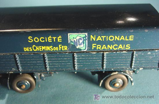 Coches a escala: TRACTEUR PANHARD. MOD. 32AB. SNCF. MADE IN FRANCE - Foto 5 - 27253606