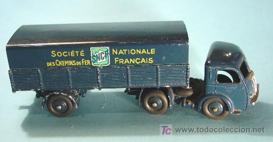 TRACTEUR PANHARD. MOD. 32AB. SNCF. MADE IN FRANCE (Juguetes - Coches a Escala 1:43 Dinky Toys)