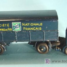 Coches a escala: TRACTEUR PANHARD. MOD. 32AB. SNCF. MADE IN FRANCE. Lote 27253606