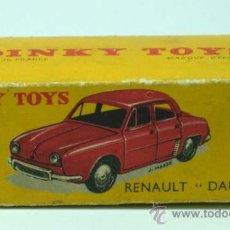 Coches a escala - Caja vacia Dinky Toys Renault Dauphine años 50 - 24557133