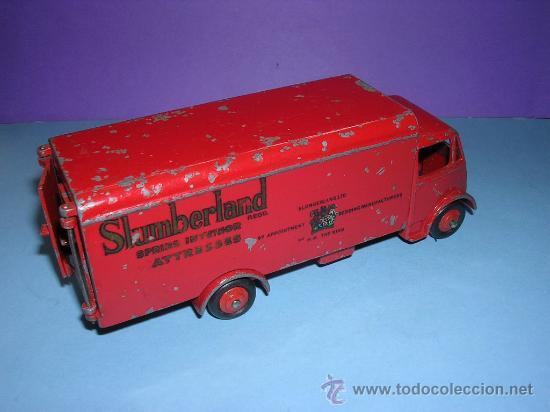 DINKY GUY VAN Nº 514 SLUMBERLAND 1949 (Juguetes - Coches a Escala 1:43 Dinky Toys)