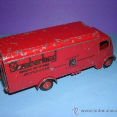 Coches a escala: DINKY GUY VAN Nº 514 SLUMBERLAND 1949. Lote 27378764