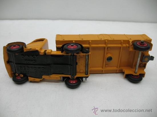 Coches a escala: DINKY TOYS --BEDFORD MECCANO ltd - camion con remolque - escala 1/43 - - Foto 6 - 27621570