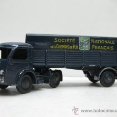 Coches a escala: CAMION TRAILER TRACTEUR PANHARD 1:43 DINKY TOYS. Lote 27875658