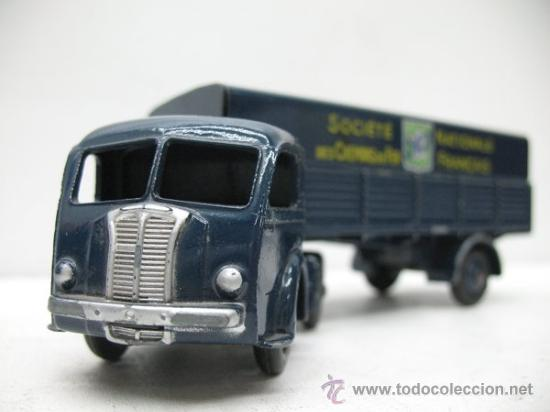 Coches a escala: CAMION TRAILER TRACTEUR PANHARD 1:43 DINKY TOYS - Foto 2 - 27875658